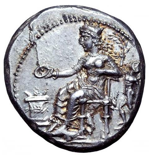 Antika Grekland, Cilicia, Nagidos, Silverstater, ca 400-385/4 f.Kr - PRAKTEXEMPLAR - MINT STATE