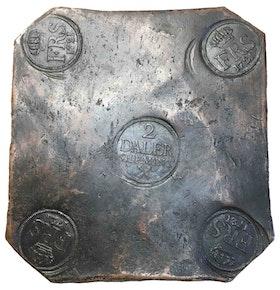 Sverige, Fredrik I 1720-1751, 2 Daler SM 1721 - PLÅTMYNT - OSEDVANLIGT VACKER - TILLFÄLLE