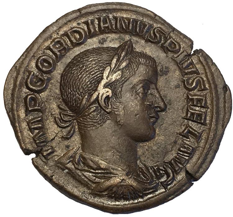 Romerska Riket, Gordianus III 238-244 e.Kr - CHOICE - TOPPEXEMPLAR