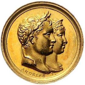 Frankrike, Napoléon Bonaparte, Kejsare 1804-1814/15, GULDMEDALJ 1811