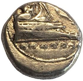 Antika Grekland, Lykien, Phaselis, Silverstater ca 400-350 f.Kr - VACKERT EXEMPLAR - HISTORISKA MOTIV!