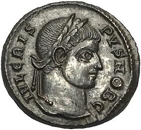 Romerska Riket, Crispus 317-326 e.Kr - KNIVSKARPT EXEMPLAR