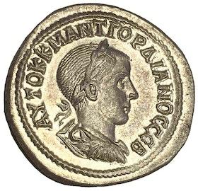 Romerska riket, Antiokia, Gordianus III 238-244 e.Kr, Tetradrachm i silver - - PRAKTEXEMPLAR - MINT STATE!
