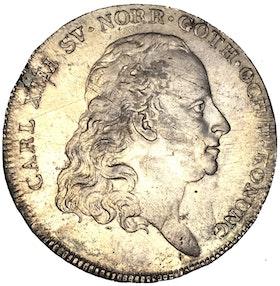 Sverige, Karl XIII 1809-1818, Silverriksdaler 1817