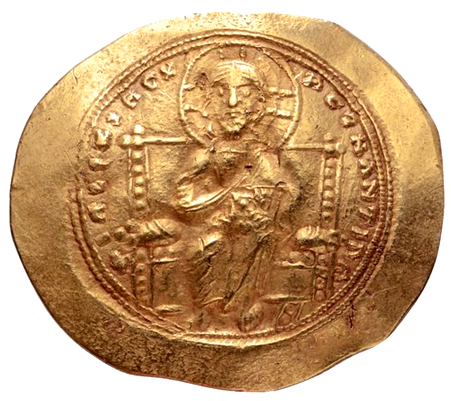 Bysantinska Riket, Constantine X 1059-1067 e.Kr, Histamenon Nomisma - BRA EXEMPLAR