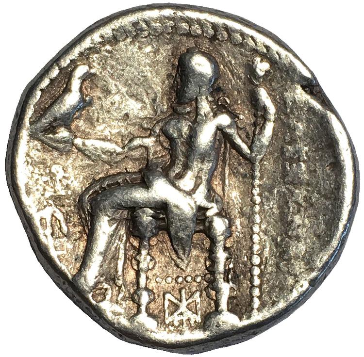 Antika Grekland, Makedonien, Alexander III (Den Store) 336-323 f.Kr, Tetradrachm - Silver - BRA EXEMPLAR