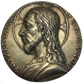 Leonardo da Vinci möjlig förlaga 1500 - SALVATOR MVNDI - MYCKET SÄLLSYNT