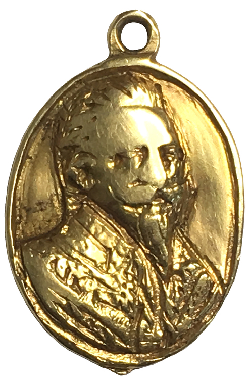 Gustav II Adolf - Tapperhetsmedalj i guld 1632 - EXTREMT RAR