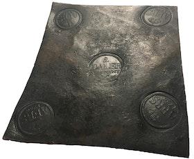 Adolf Fredrik I - Plåtmynt 2 Daler SM 1756 - Osedvanligt välbevarat exemplar