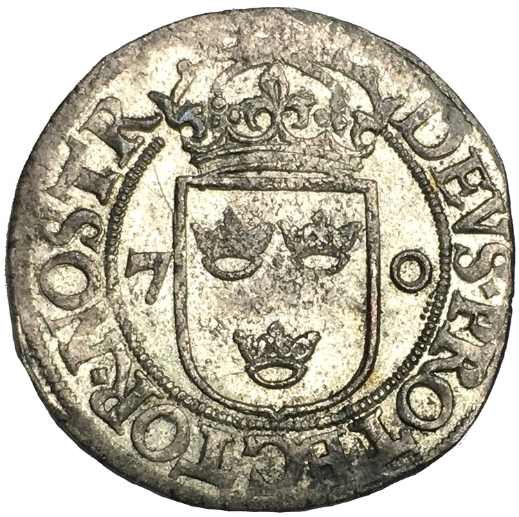 Johan III - 2 Öre 1570 - Vackert exemplar