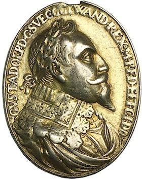 Gustav II Adolf, Belönings- och tapperhetsmedalj 1631 - utdelad av konungen