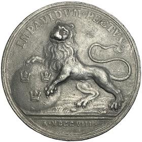 Karl XII, Svenska folkets välönskningar och förhoppningar följa hjältekonungen 1708 och 1709 av Westmann