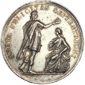 Ulrika Eleonora:s kröning 25 november 1680 i Stockholms storkyrka av Arvid Karlsteen