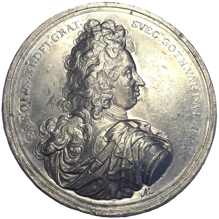Karl XI:s resa till Västerbotten 1694 för att se midnattssolen av Karlsteen - Extremt sällsynt - RRR