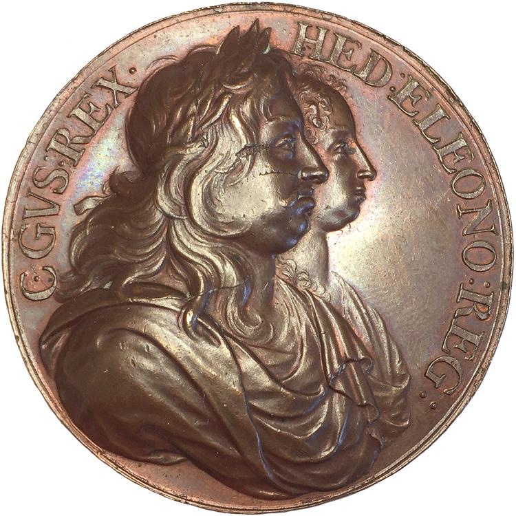 Sverige, Karl X Gustav & Hedvig Eleonora av Arvid Karlsteen - RRR
