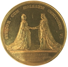 Sverige, Gustav III 1771-1792, Guldmedalj 1774 i 22-dukaters vikt - XR - Enda kända exemplaret i privat ägo