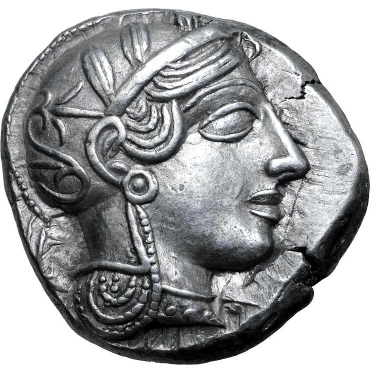 Attika, Aten, Tetradrachm 454-404 f.Kr - MYCKET VACKERT SKICK