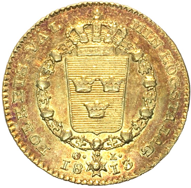Karl XIII - Dukat 1813 - Trevligt exemplar