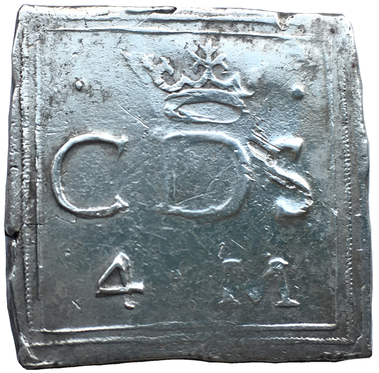 Hertig Karl av Södermanland - Kalmar - Klipping 4 Mark 1603
