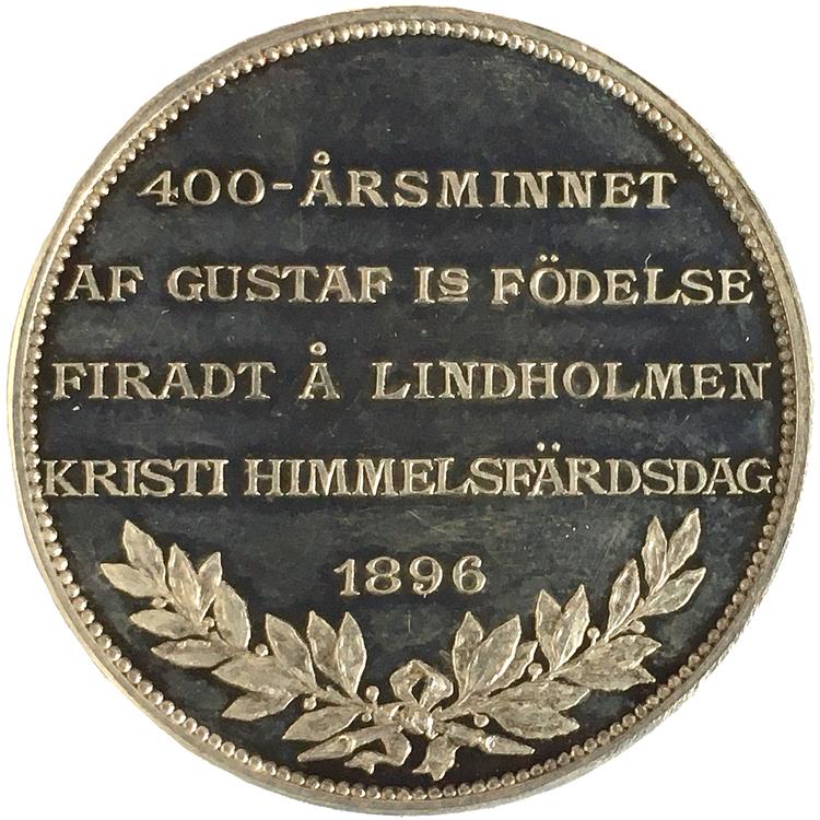 Gustav Vasas 400-årsminne av hans födelse 1496-1896 av Adolf Lindberg