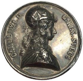 KARL XI - Segern vid Lund 1676 av J.G. Breuer - VACKERT EXEMPLAR