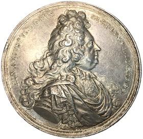 BRAUNSCHWEIG & LÜNEBURG, Ernst August, 1679-1698 - medalj till begravningen 1698 XR av Arvid Karlsteen