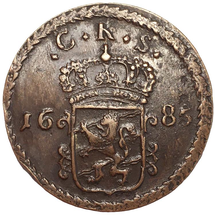 Karl XI - 1 Öre SM 1685 - Vackert toppexemplar