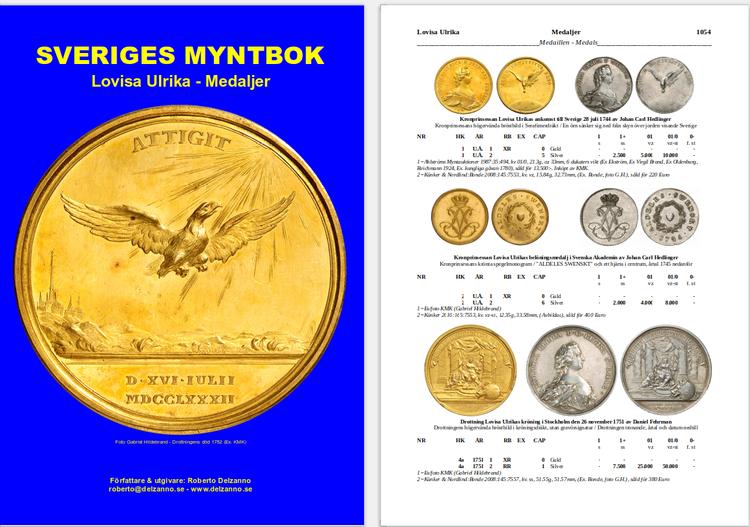 SVERIGES MYNTBOK 995-2022 - Utkommer december 2020