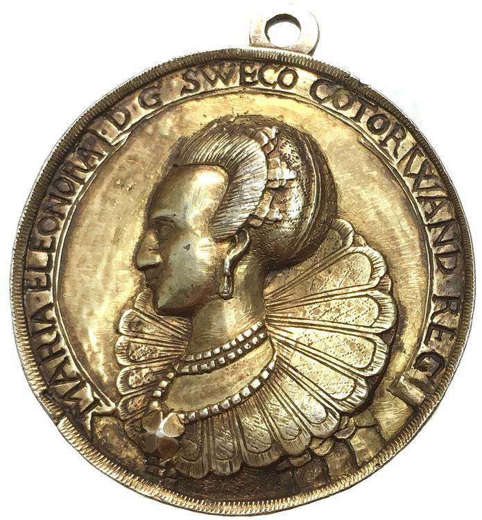 Gustav II Adolf och Maria Eleonora 1629 - Exceptionell kvalitet - bästa exemplaret - RRR i denna kvalitet