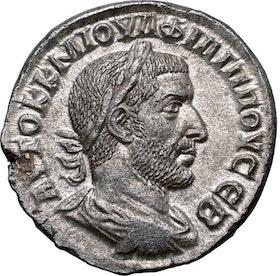 Romerska riket, Philip I 244-249 e.Kr, Seleucis and Pieria, Tetradrachm - Tekniskt ocirkulerad och skarp med fin lyster