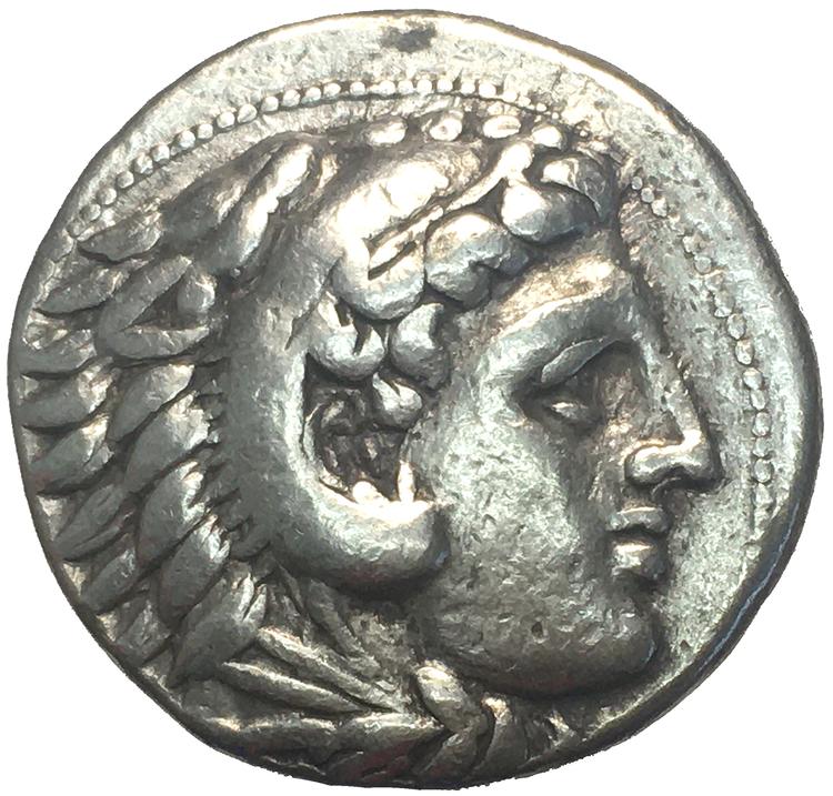 Grekland, Makedonien, Alexander III (Den Store) 336-323 f.Kr, Tetradrachm