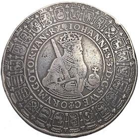 Johan III - 2 Daler utan årtal - PRAKTMYNT