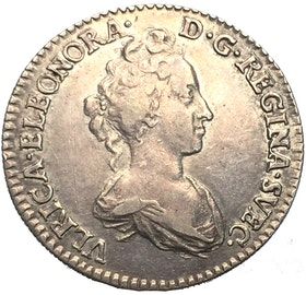 Ulrika Eleonora - 1 mark 1719 - Mycket vackert exemplar