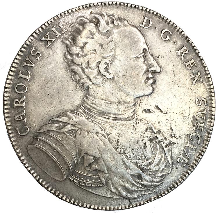 Karl XII - Riksdaler 1718 - Tilltalande exemplar