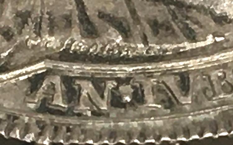 Fredrik I - Jubileumsriksdaler 1721 - signerad av Hedlinger - TOPPEXEMPLAR