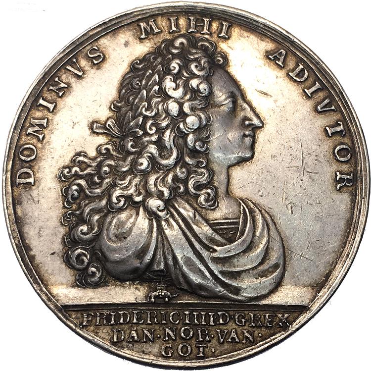 Danmark, Fredrik IIII:s död 1730 av Anton Meybusch