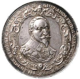 Gustav II Adolf 1632 - Tyska protestanternas glädjebetygelser av Sebastian Dadler