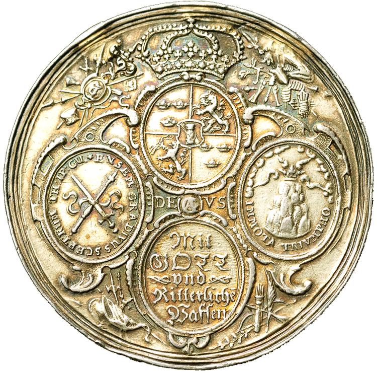 Gustav II Adolf 1631 - Tyska protestanternas glädjebetygelser av J. Gentil