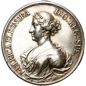 Karl XI och Ulrika Eleonora av Anton Meybusch utgiven 1680