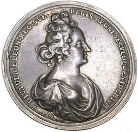 Drottningens död den 26 juli 1693 av Arvid Karlsteen