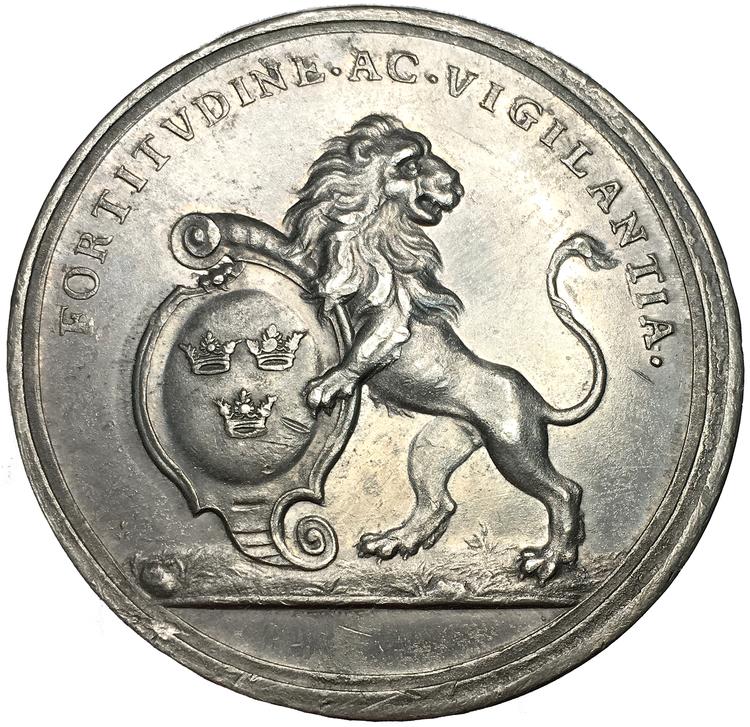 Karl XI - Sveriges ära och lycka återställd 1679-80 av Arvid Karlsteen