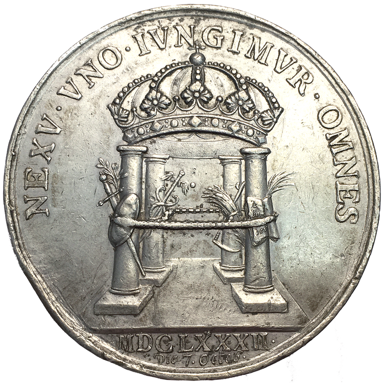 Karl XI - Enighet mellan konungen och ständerna vid 1682-års rikstad - MYCKET SÄLLSYNT RR av Arvid Karlsteen
