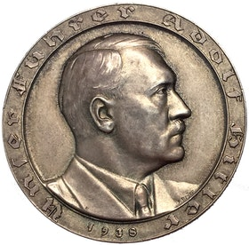 Tredje riket Adolf Hitler utnämd till rikets kansler 1933 av F. Bayer