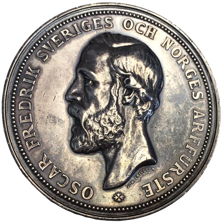 Kronprins Oskar (II) - Världsutställningen i Stockholm 1866 av John Ericsson