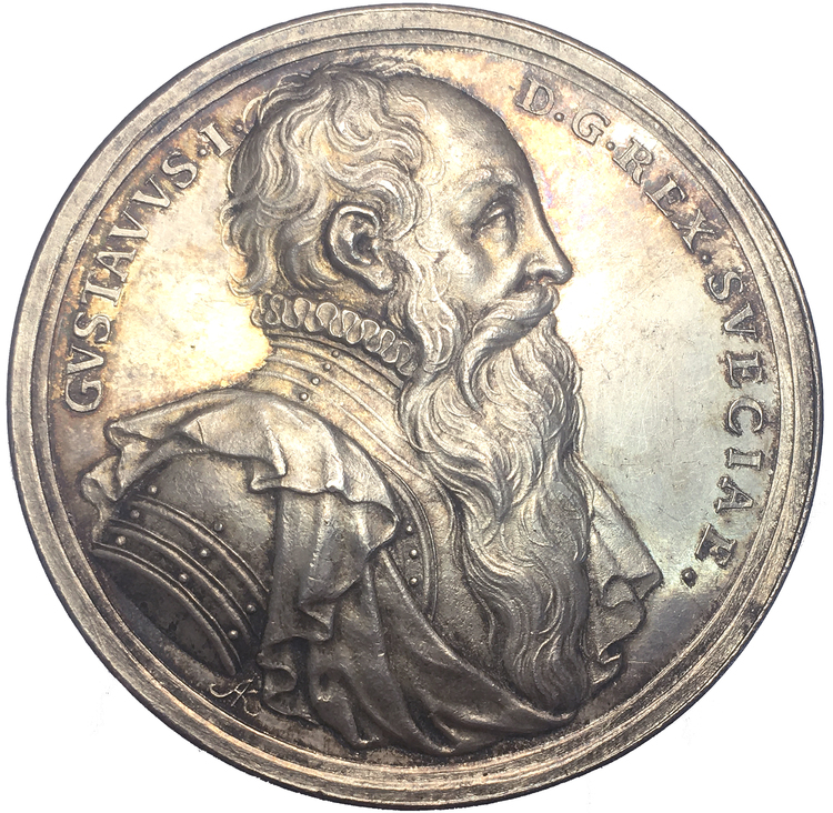 Konung Gustav Vasas fortsatta kamp för fäderneslandets befrielse från andligt och politiskt förtryck 1523 - VACKERT EXEMPLAR av Arvid Karlsteen