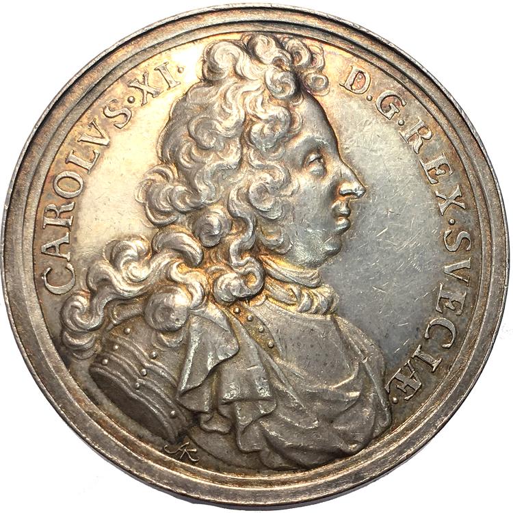 Karl XI - Konungens död den 5 april 1697 och begravning den 24 september samma år av Arvid Karlsteen - SÄLLSYNT
