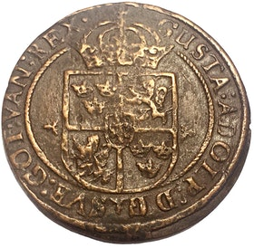 Gustav II Adolf - 1 kreutzer 1632 - Tilltalande exemplar