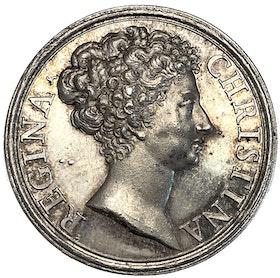 Kristina - Drottningens lysande och makalösa snillegåvor av Giovanni Hamerani 1675 - Ocirkulerat praktexemplar - Extremt sällsynt - RR