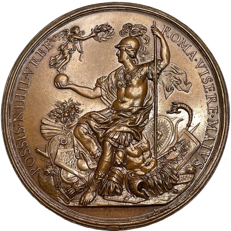 Kristina - Drottningen beslutar sig att bosätta sig i Rom av Guglielmada - TOPPEXEMPLAR