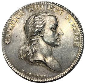 Karl XIII - Konungen som Vetenskapsakademiens beskyddare (1809) av Mauritz Frumerie - SÄLLSYNT